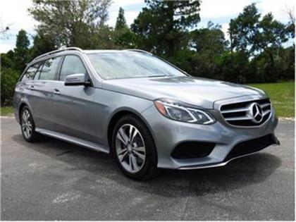 2014 MERCEDES BENZ E350 4MATIC - SILVER ON GRAY