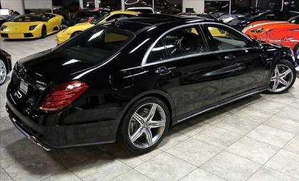 2014 MERCEDES BENZ S63 AMG - BLACK ON BLACK 3