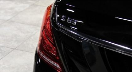 2014 MERCEDES BENZ S63 AMG - BLACK ON BLACK 6
