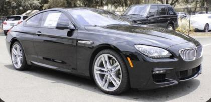 2015 BMW 650 ! - BLACK ON BLACK