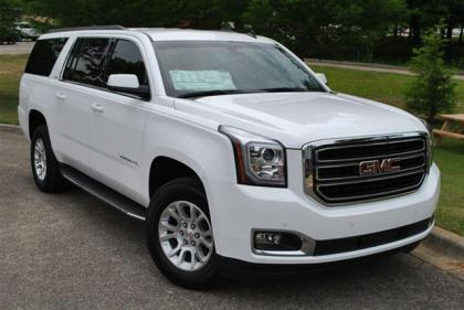 2015 GMC YUKON XL - WHITE ON BLACK