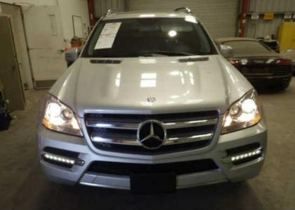 2012 MERCEDES BENZ GL450 4MATIC - SILVER ON BLACK 6