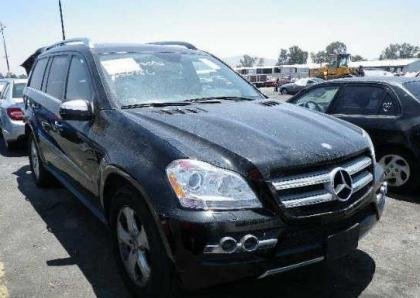 2010 MERCEDES BENZ GL450 4MATIC - BLACK ON BLACK