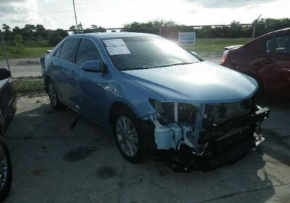 2012 TOYOTA CAMRY LE - BLUE ON GREY