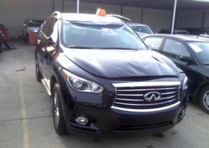2013 INFINITI JX35 BASE - BLACK ON BLACK