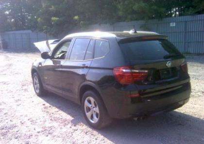 2012 BMW X3 XDRIVE28I - BLACK ON BLACK 3