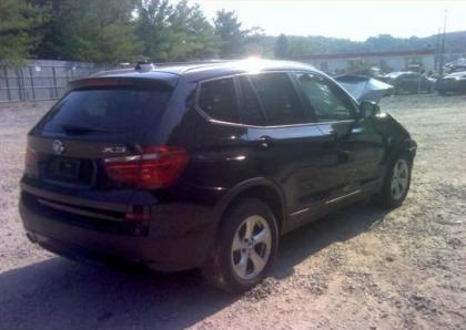 2012 BMW X3 XDRIVE28I - BLACK ON BLACK 4