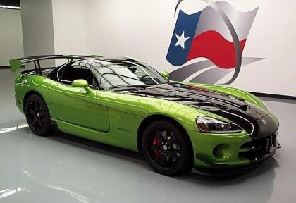 2010 DODGE VIPER SRT-10 - GREEN ON BLACK