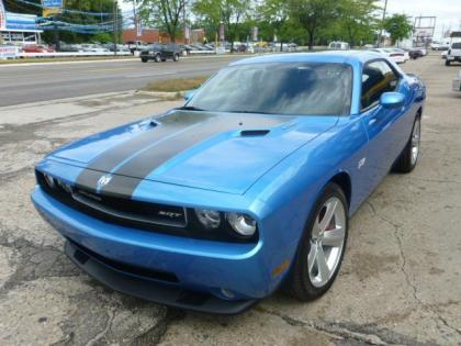 2010 DODGE CHALLENGER STR-8 - BLUE ON BLACK
