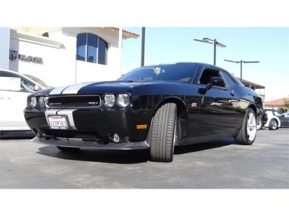 2012 DODGE CHALLENGER STR-8 - BLACK ON BLACK