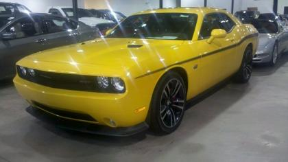 2012 DODGE CHALLENGER STR-8 - YELLOW ON BLACK