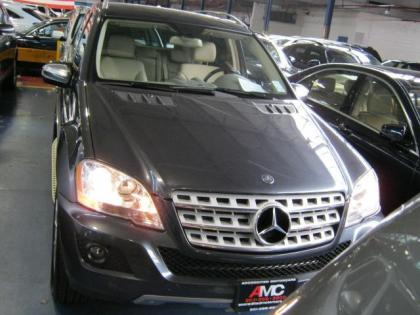 2010 MERCEDES BENZ ML350 4MATIC - GRAY ON BEIGE