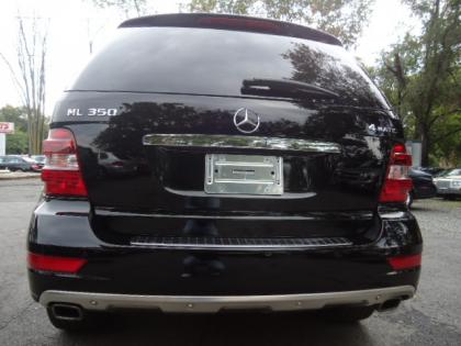 Export Used 2010 Mercedes Benz Ml350 4matic Black On Black