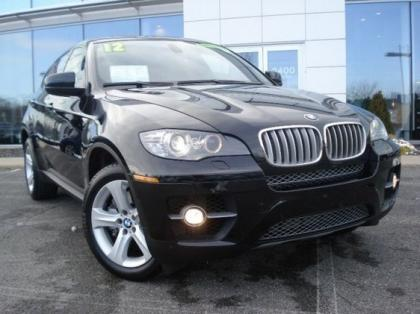 2012 BMW X6 XDRIVE50I - BLACK ON BLACK