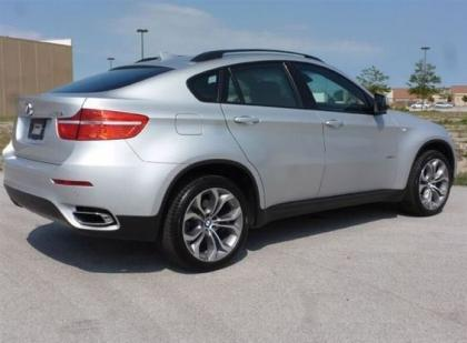 2011 BMW X6 XDRIVE50I - SILVER ON RED 2