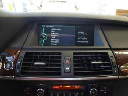 2011 BMW X6 XDRIVE50I - SILVER ON RED 4