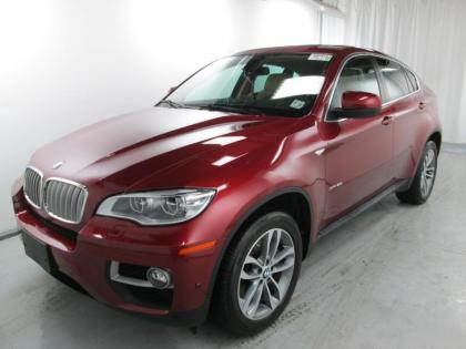 2014 BMW X6 XDRIVE50I - MAROON ON TAN