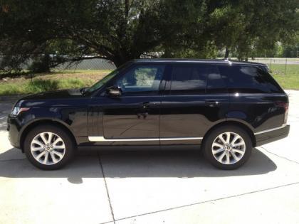 2017 Land Rover Range Hse Black On 2