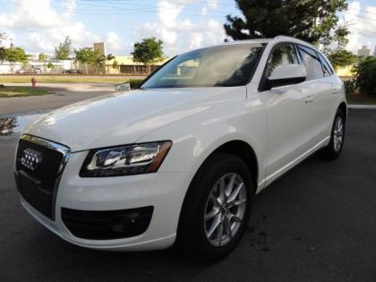 2011 AUDI Q5 2.0T - WHITE ON GRAY
