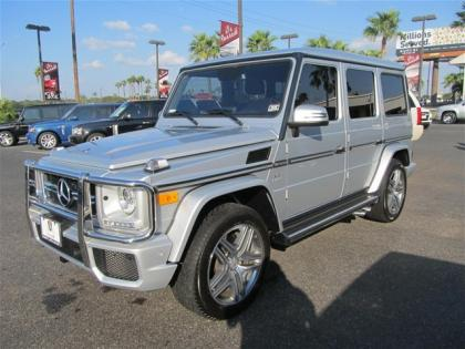 2013 MERCEDES BENZ G63 AMG - SILVER ON BLACK