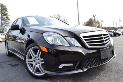 2010 MERCEDES BENZ E350 4MATIC - BLACK ON BLACK