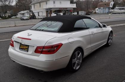2013 MERCEDES BENZ E350 CONVERTIBLE - WHITE ON BEIGE 2