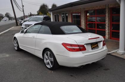 2013 MERCEDES BENZ E350 CONVERTIBLE - WHITE ON BEIGE 3