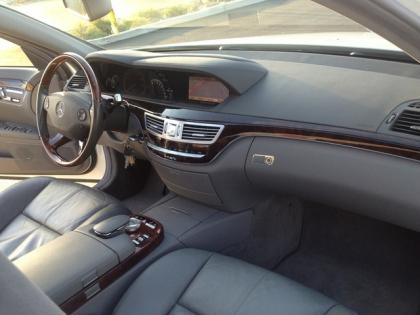 Great ... 2007 MERCEDES BENZ S550 4MATIC   WHITE ON BLACK 6 ...